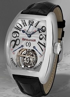 Franck Muller Revolution 3 For all the latest news on luxury watches and watches for sale www.ChronoSales.com #ChronoSales