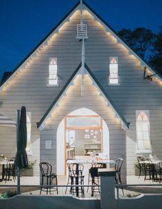 Gorgeous Restaurant in Bellingen NSW - Cedar Bar & Kitchen Bar Kitchen, Food Concept, Australia Travel, Restaurant, Apple Cider, Outdoor Decor, Road Trip, Heart, Glass