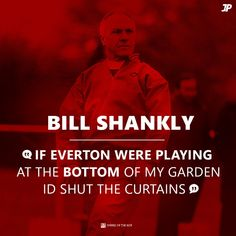 Shanks knows best. Liverpool Home, Liverpool Football Club, Bill Shankly, Liverpool Fc Wallpaper, Uefa Super Cup, This Is Anfield, Best Football Team, European Cup, Boston Sports