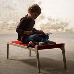 Sirch Sibi Eryka 德國製手工木作 長凳/遊戲椅/穿鞋椅