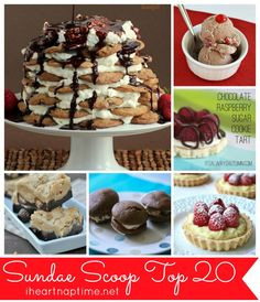 Sundae Scoop Top 20 I Heart Nap Time | I Heart Nap Time - Easy recipes, DIY crafts, Homemaking
