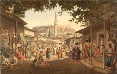 Αthens market in the 19th century/ Η αγορά των Αθηνών τον 19ο αιώνα | greek culture/ελληνικός πολιτισμός
