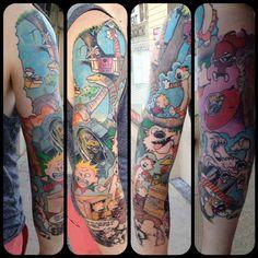 Calvin & Hobbes sleeve