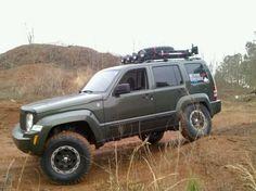 jeep liberty lift kit pictures | KK elevado