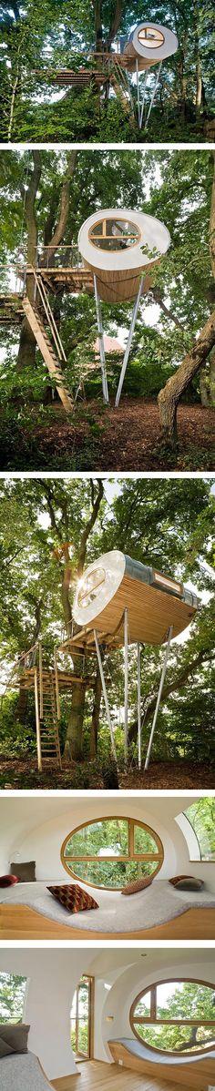 TREE HOUSE PREFABRICADA - despiertaYmira