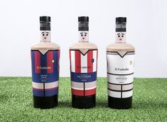 El Futbolín / Table Football on Packaging of the World - Creative Package Design Gallery Table Football, Limited Edition Packaging, Premium Beer, Wine Design, Non Alcoholic Drinks, Packaging Design Inspiration, Liquor, Vodka, Branding Design