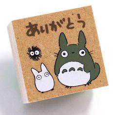 Studio Ghibli My Neighbor Totoro Rubber Stationery Stamp (Together) - Hamee.com - 1