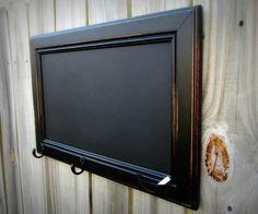 Chalk board from an old cupboard door