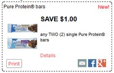 Pure Protein Bars are Under $1 at Walmart - Price Match at Walmart, Coupon at Walmart, Save Money at Walmart