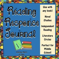 Reading Response Journal: To Use With Any BookCommon Core AlignedThis Reading Response Journal truly pushes students to show evidence of their thinking while reading! Save loads of time with this engaging, student-friendly Reading Response Journal!This ready-to-print-and-go reading journal has changed my students' reading habits for the better, helping them develop wonderful metacognition skills while preparing them for the careful reading, critical thinking, and meaningful writing they need…