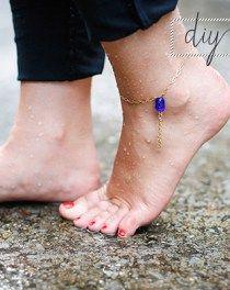 Easy Bead DIY Anklet