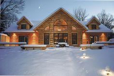 Segwun II by True North Log Homes