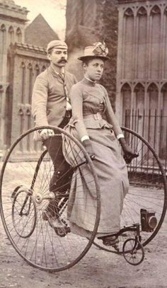 Penny farthing 1900