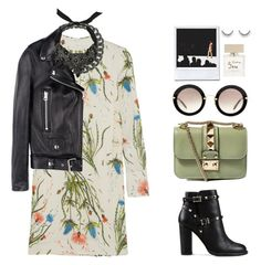 """""""Street Style N°9"""" by yellowgrapes ❤ liked on Polyvore featuring Topshop Unique, Bling Jewelry, Acne Studios, Zara, Valentino, Miu Miu, Bella Freud, KaufmanFranco, women's clothing and women's fashion"""
