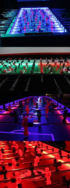 Foosball 36276: 8 Player Led Foosball Table By Warrior Table Soccer Great For Events And Parties -> BUY IT NOW ONLY: $2195 on eBay!