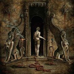 http://aluktodolo.bandcamp.com/album/on-the-powers-of-the-sphinx Saturnalia Temple, Nightbringer, Nihil Nocturne,  Aluk Todolo -  On the Powers of the Sphinx