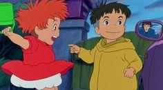 Film di Miyazaki per i più piccoli Ponyo sulla scogliera