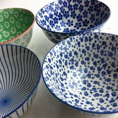 Set Of Four Soup Or Serving Bowls