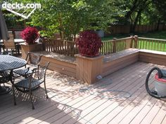 Benches Seating Deck Picture Gallery