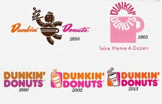 35. Dunkin' Donuts - The 50 Most Iconic Brand Logos of All Time | Complex