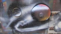 Spray Paint Art LIVE Tutorial: Back to Basics... I MUST LEARN