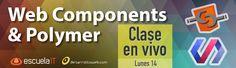 Cambia el paradigma con Web Components y Polymer: http://www.desarrolloweb.com/en-directo/cambio-paradigma-web-components-polymer-8938.html