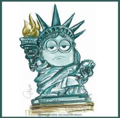 Minion Liberty by IG @soegimitro