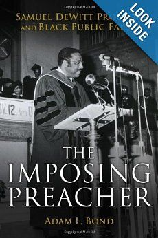 The Imposing Preacher: Adam L. Bond #books #resources #reading #ministry #faith