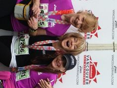 At the finish line - the Scotiabank Vancouver 2014 event on June 22nd