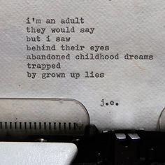 trapped poem by ©judyelisa