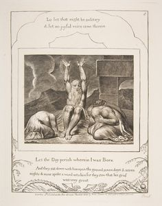 Job's Despair, from Illustrations of the Book of Job  Published 1825–26