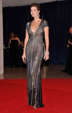 ivanka trump attending the white house correspondents dinner april 28, 2012
