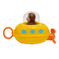 Skip Hop 235352 Zoo Bath Pull and Go Submarine - aufziehbares Badespielzeug, U-Boot Adventskalender Baby Monkey Bath, Toy Monkey, Cute Monkey, Toddler Toys, Kids Toys, Toddler Stuff, Kid Stuff, Poupées Our Generation, Skip Hop Zoo