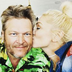 Nobody but you! Gwen Stefani shared a sweet photo alongside her boyfriend, Blake Shelton, to celebrate his 44th birthday.
