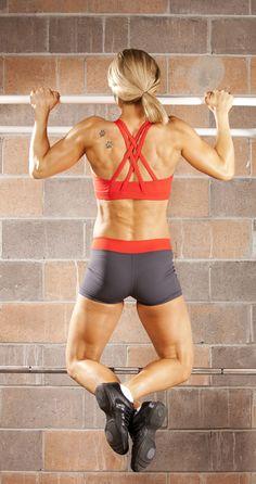 Back and shoulder workout routine for women. [ Waterbabiesbikini.com ] #fitness #bikini #elegance
