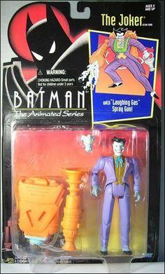 THE JOKER ACTION FIGURE - BATMAN THE ANIMATED SERIES KENNER - 1992
