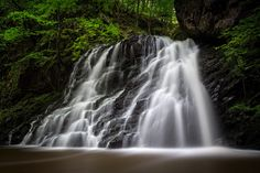 """Fairy Falls in Fairy Glen - Watch the vlog that this image was shot in here:  <a href=""""http://bit.ly/1t30C5d"""">http://bit.ly/1t30C5d</a>  The Fairy Glen in Rosemarkie, Scotland is a photographer's haven. You could easily create an entire portfolio of work from this one place because it's filled with spectacular scenery everywhere you turn. But the main draw for me initially were the Fairy Falls inside the Fairy Glen.  It was only when I saw the waterfall up close that I got a sense of its…"""