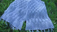 Esarfa tricotata maual