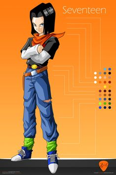 (Vìdeo) Aprenda a desenhar seu personagem favorito agora, clique na foto e saiba como! Dragon ball Z para colorir dragon ball z, dragon ball z shin budokai, dragon ball z budokai tenkaichi 3 dragon ball z kai Dragon Ball Z, Dbz Androids, Series Manga, Super Android, Krillin And 18, Ssj3, Cartoon Tv Shows, A Team, Illustration