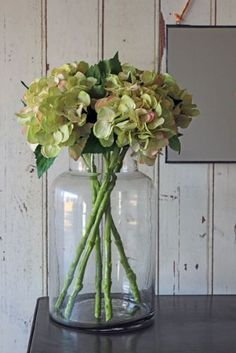 Could use my glass sweetie jars as vases. Large Glass Jar Vase