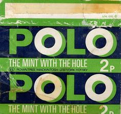 Sticking your tongue through the hole as it got bigger....can you remember the packets of Fruit Polo?!