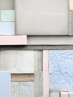 Blue & Pink, Pastels, Color Blocking, Pattern, Texture, Pantone Color(s) of 2016, Rose Quartz & Serenity, h-a-l-e.com