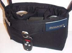 Camera Bag insert DSLR for your purse, padded slr carrier
