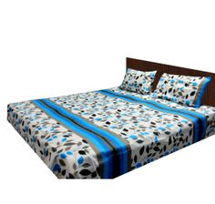 Buy attractive bed sheets online at affordable price to decor your home interior. We have single and double bed sheets, buy Online at loomkart.com.