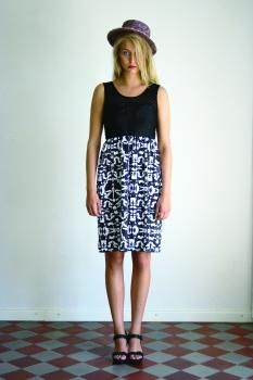 R/H SS13 Collection - Mickey Beach Dress in Mosaik