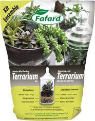 Fafard » Ensemble pour Terrarium – Mini jardin intérieur