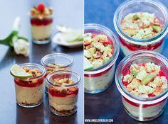 [bakes...] No Bake Raspberry Lemon Pistachio Cheesecake {Kochhaus Event}