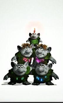 Merry Christmas! :) Frozen Trolls