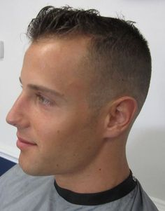 Excellent fade haircuts for cool guys - Fashion And Hairstyle Very Short Haircuts, Thin Hair Haircuts, Cool Haircuts, Hairstyles Haircuts, Short Hair Cuts, Short Hair Styles, Crew Cut Hair, Haircuts For Balding Men, David Hair