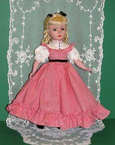 "1950 Madame Alexander 14"" Amy Little Women Loop Curl Margaret All Orig Minty | eBay"